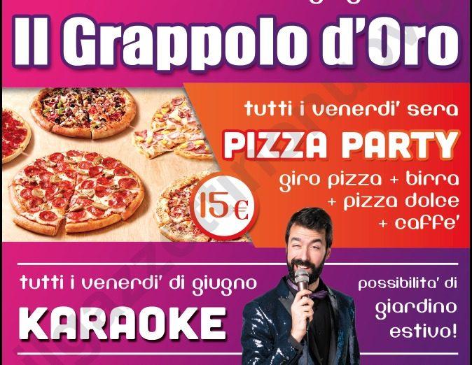 pizza e karaoke