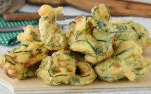 zucchine pastellate fritte