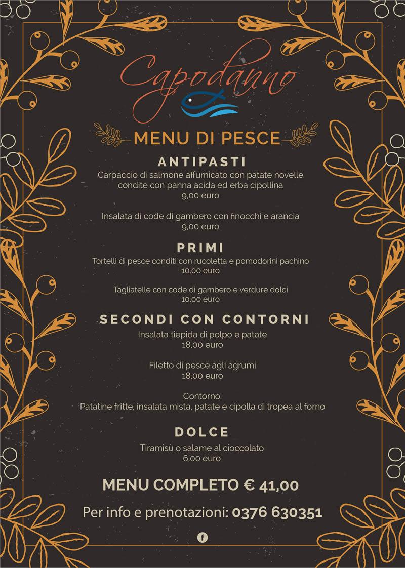 menu pesce capodanno 2020