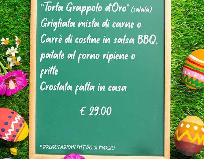 menu di pasquetta